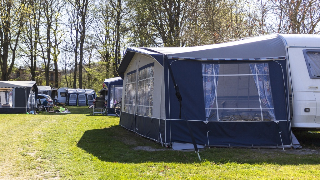 14 days in your own caravan or tent