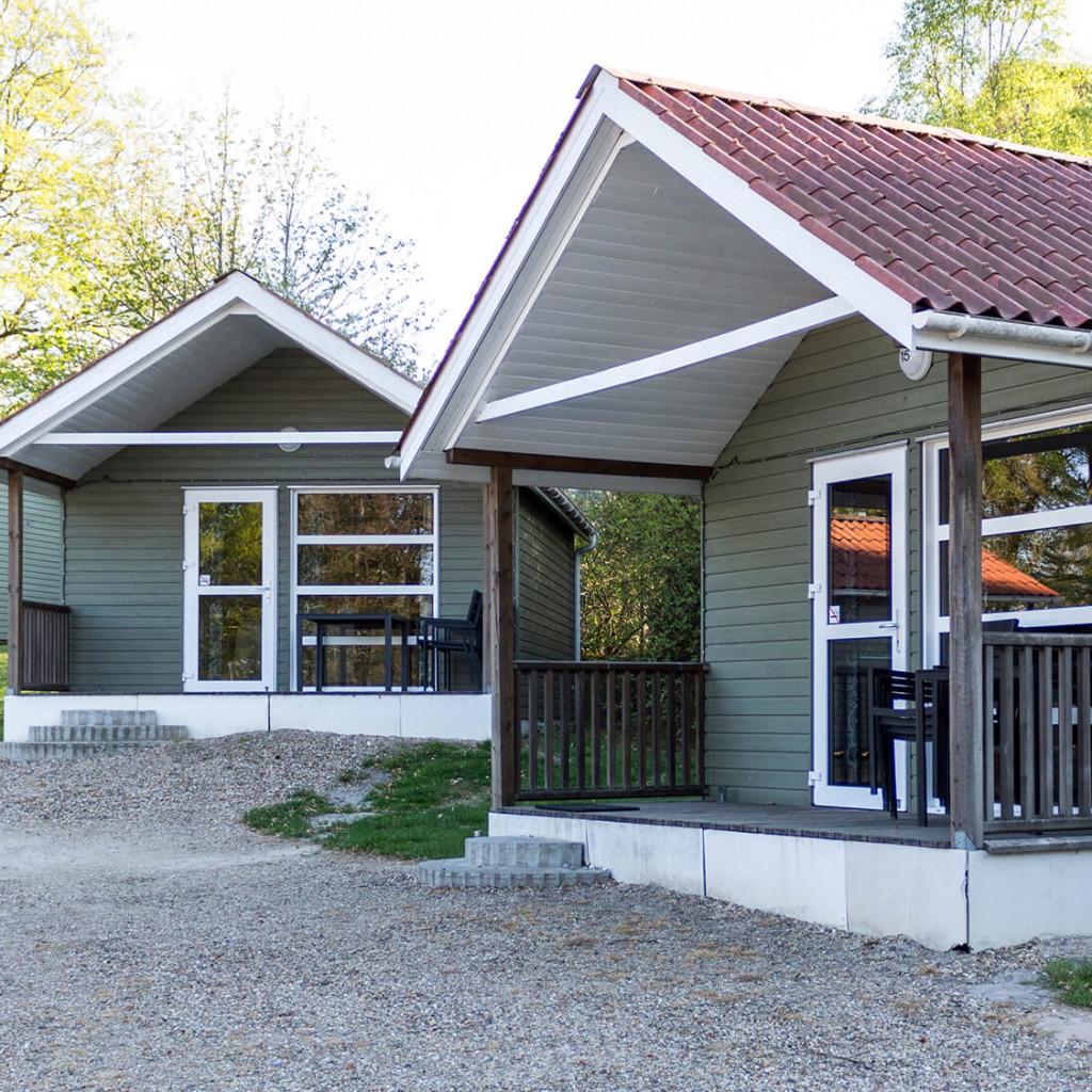 25 m2 hytte<br>Før: 6.825.- NU: 5.937.-