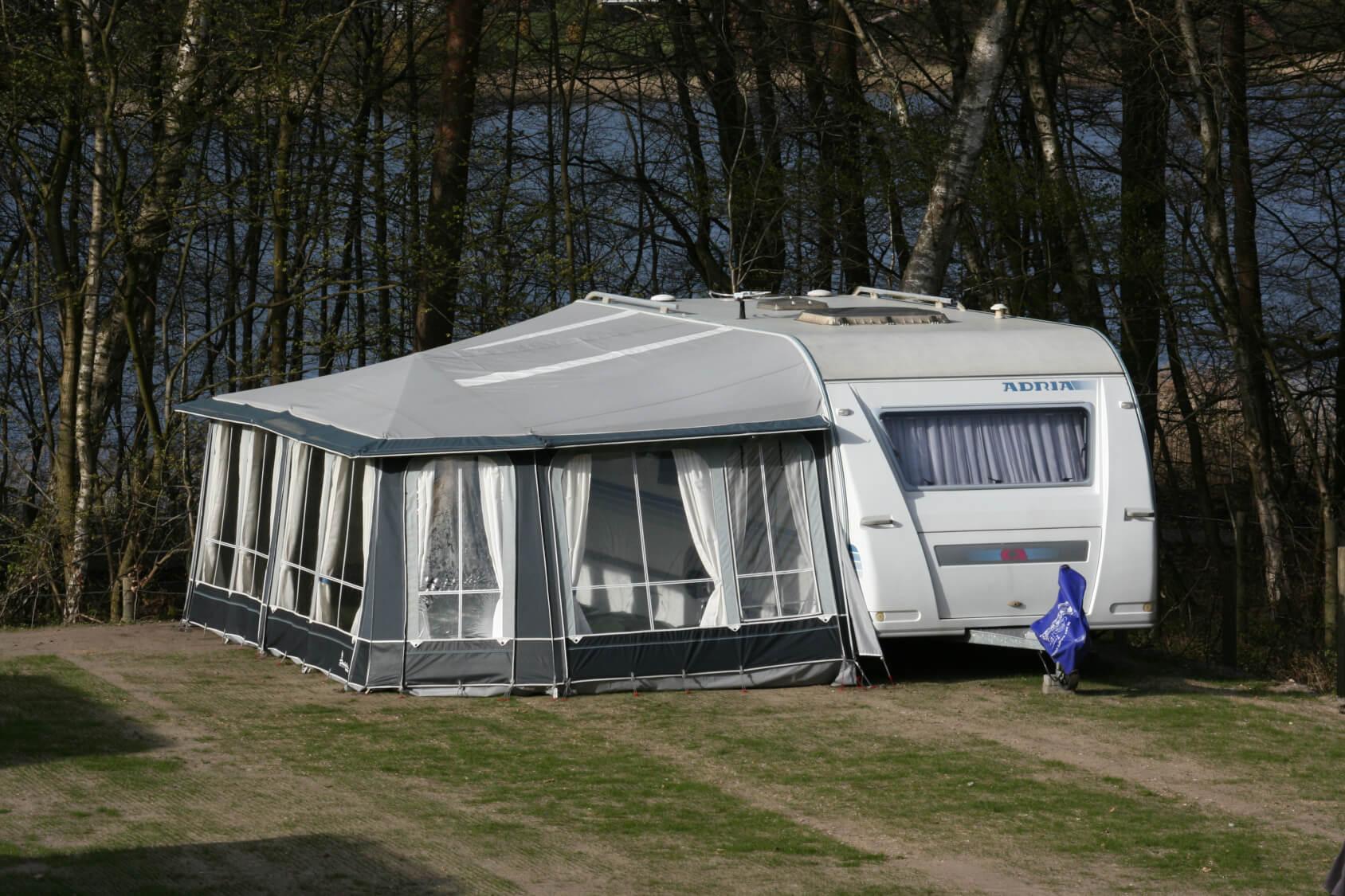 37 m2 ADRIA 613 - CAMPINGVOGN<br>FØR: 1600.- NU: 1399.-